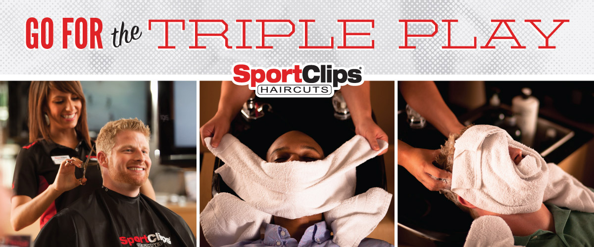 The Sport Clips Haircuts of Omaha - West Greyhawk  Triple Play